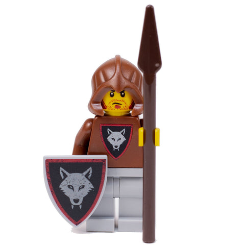 Wolfpack Bandit (Spear) - Custom LEGO Castle Minifigure