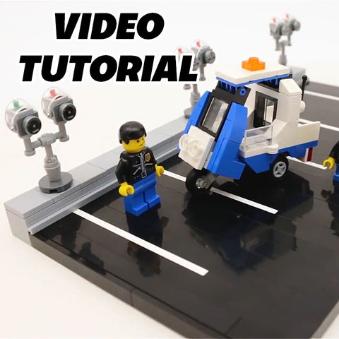 Video: How to Build LEGO City Parking Meters + Meter Maid Mobile