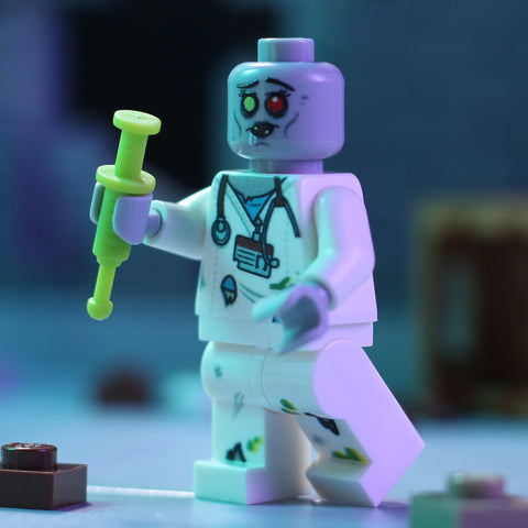 Zombie Nurse - Custom LEGO Minifigure