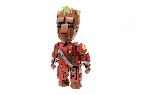 Instructions For Custom Lego Guardians Of The Galaxy Life Size Baby