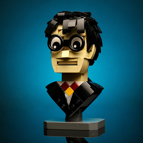 Instructions for Custom LEGO Harry Potter Bust