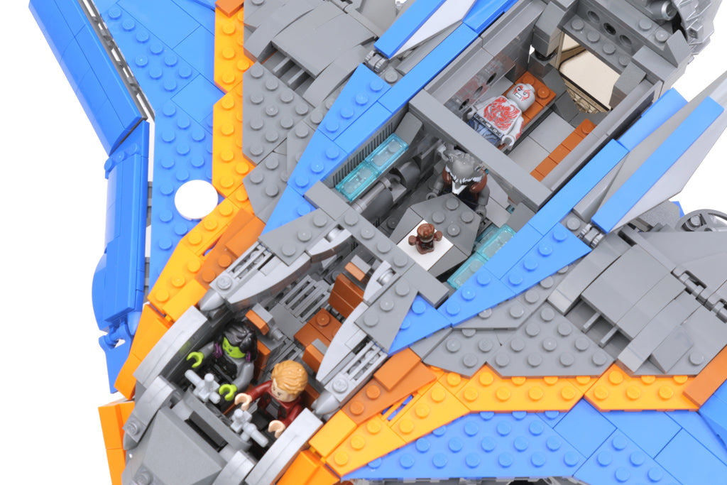 Instructions for custom lego ucs guardians of the galaxy for Unique design milano