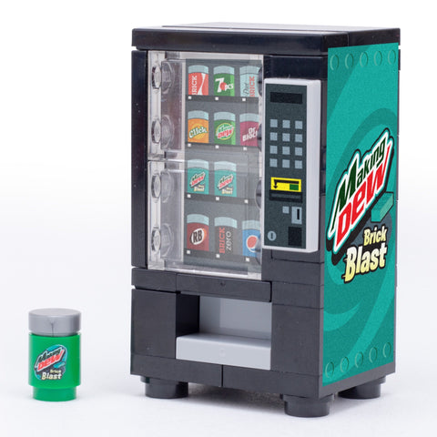 Making Dew (Brick Blast) - Custom LEGO Soda Vending Machine