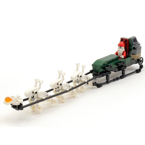 Instructions for Custom LEGO Nightmare Before Christmas Jack Skellington's Sleigh