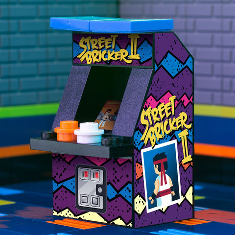 Street Bricker II - Custom LEGO Classic Arcade Machine