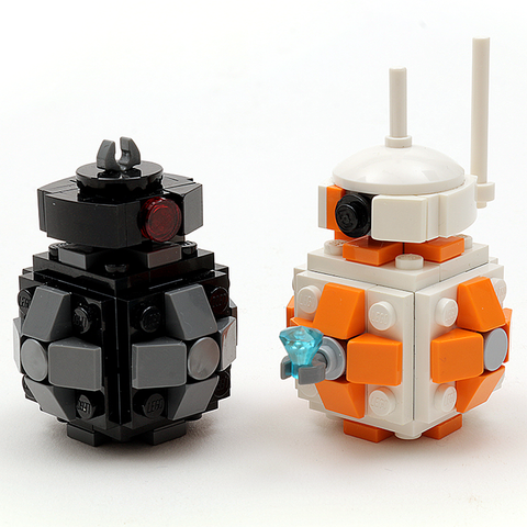 FREE! LIMITED TIME! Custom LEGO Star Wars BB-8 and BB-9E Droid Instructions