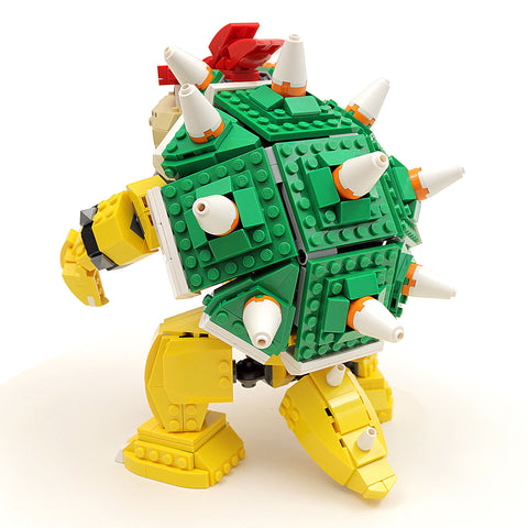 Instructionsparts List For Custom Lego Nintendo Bowser Figure