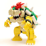 Instructions/Parts List for Custom LEGO Nintendo Bowser Figure