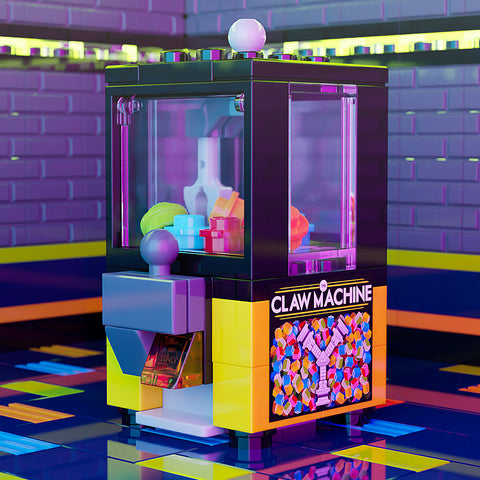Claw Machine - Custom LEGO Arcade Game