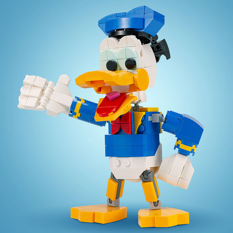 Instructions for Custom LEGO Donald Duck