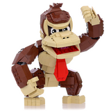 Instructions/Parts List for Custom LEGO Nintendo Donkey Kong Figure