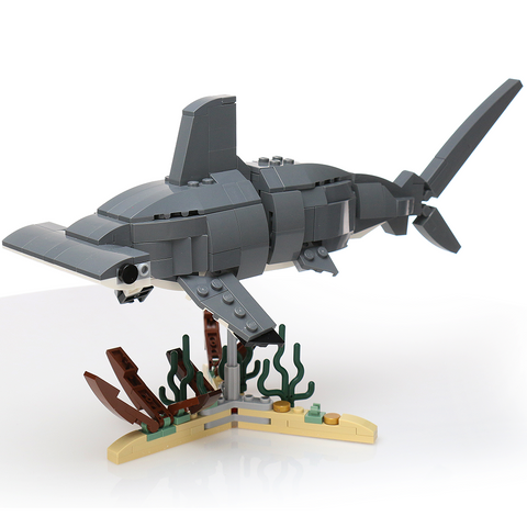 Instructions for Custom LEGO Hammerhead Shark