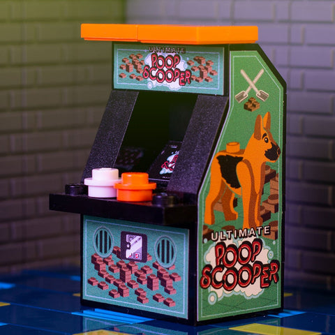 Ultimate Poop Scooper - Custom LEGO Classic Arcade Machine