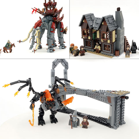 Bundle: Custom LEGO Lord of the Rings Instruction Collection