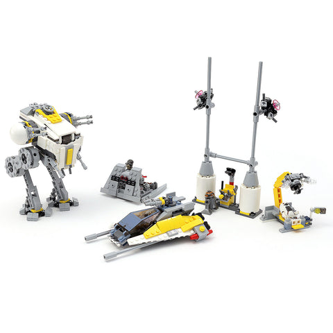 Alternate Build: Y-Wing Starfighter Set 75172 Instructions