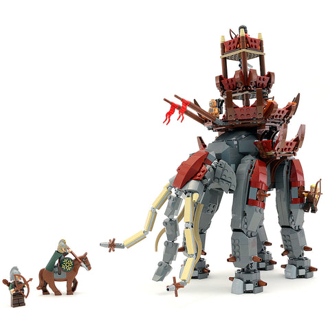Custom LEGO Lord of the Rings Oliphant Instructions