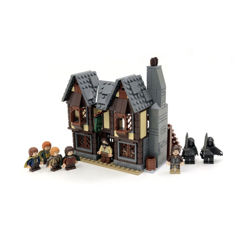 Custom LEGO Lord of the Rings The Prancing Pony Instructions