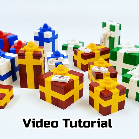 How to Build LEGO Christmas Gifts (Video Tutorial)