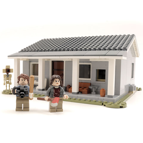 Custom LEGO Stranger Things Byer's House Instructions