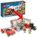 Alternate Build: Pickup and Caravan Set 60182 Instructions