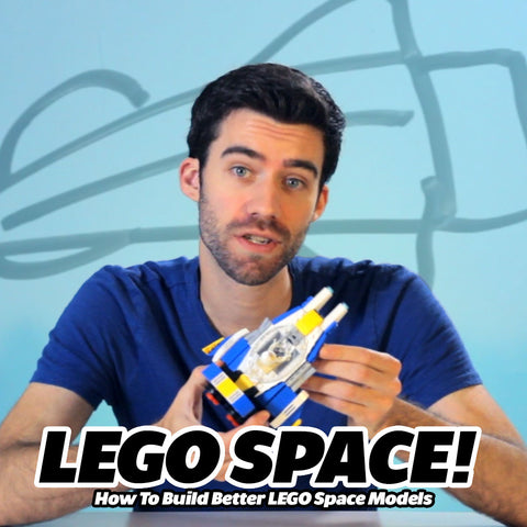 Online Class: How to Build Better LEGO Space Models - 16 Videos