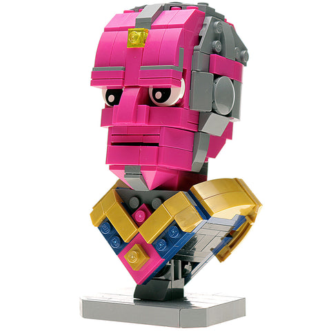 Custom LEGO Vision Bust Instructions, Parts List