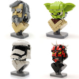 Custom LEGO Star Wars Busts - Wave 1