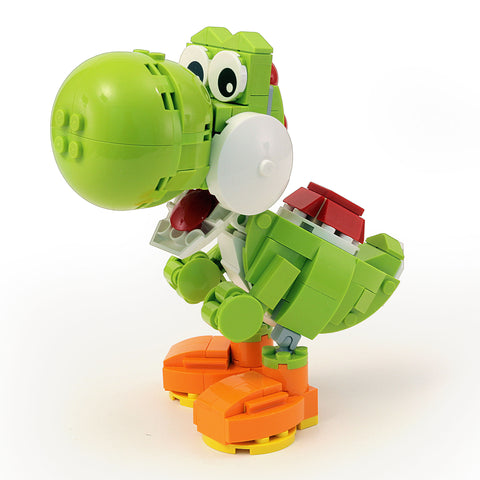 Instructions, Parts List for Custom LEGO Nintendo Yoshi Figure