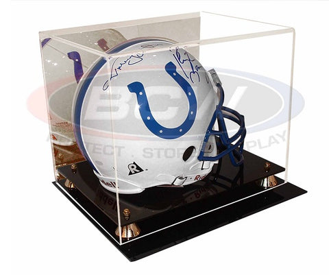 Image of Acrylic Full Size Football Helmet Display