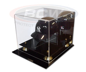 Acrylic Mini Baseball Helmet Display