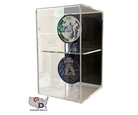 Acrylic Wall Mount Hockey Puck Display Case