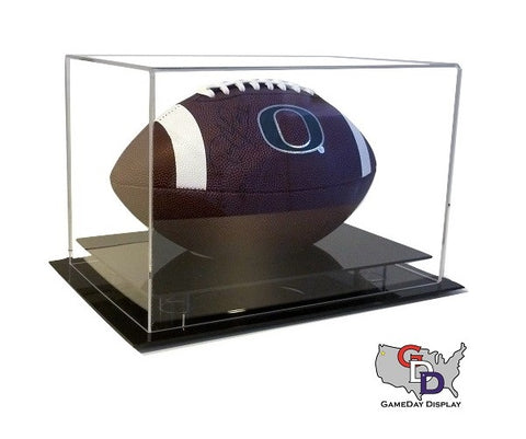 Image of Acrylic Desk Top Football Display Case