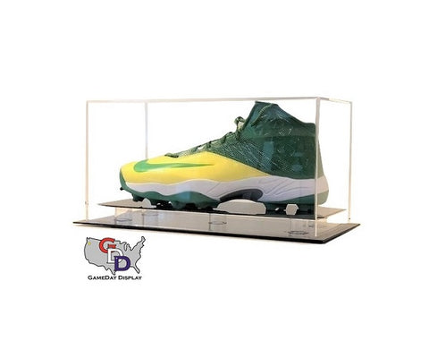 Image of Acrylic Desk Top Large Shoe Display Case