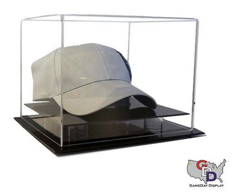 Acrylic Desk Top Hat Display Case