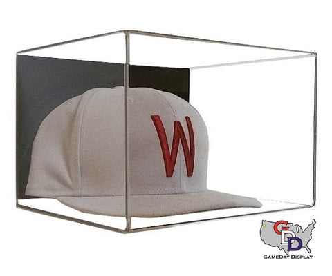 Image of Acrylic Wall Mount Hat Display Case