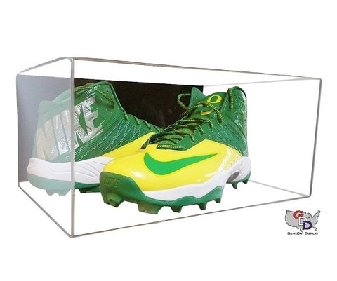 Image of Acrylic Wall Mount Large Shoe Pair Display Case