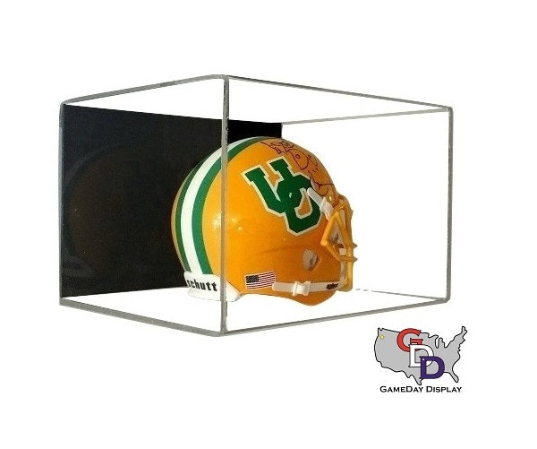 Acrylic Wall Mount Mini Helmet Display Case
