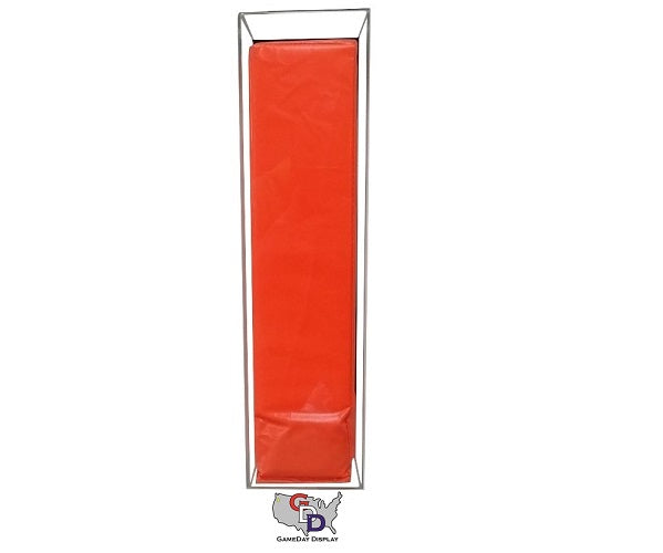 Acrylic Wall Mount Football Pylon Display Case
