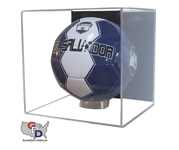 Acrylic Wall Mount Soccer Ball Display Case