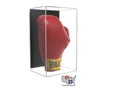 Acrylic Wall Mount Vertical Boxing Glove Display Case