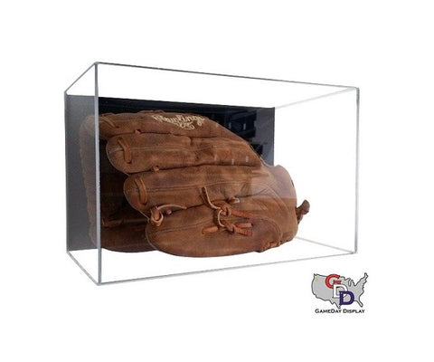 Acrylic Wall Mount Baseball Glove Display Case