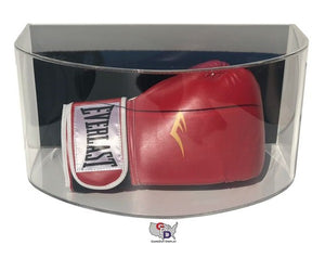 Curved Acrylic Wall Mount Boxing Glove Display Case