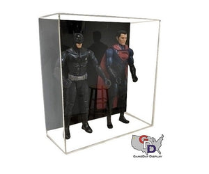 Acrylic Wall Mount Double Action Figure Display Case