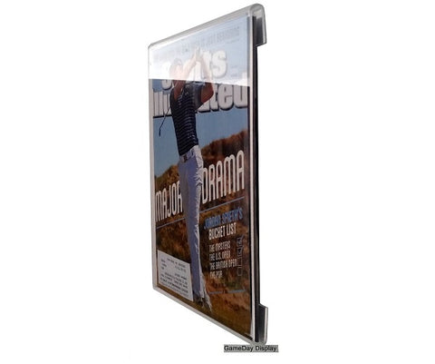 Frameless Acrylic Sports Illustrated Display Case