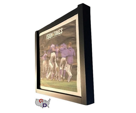 Image of Newspaper Display Frame