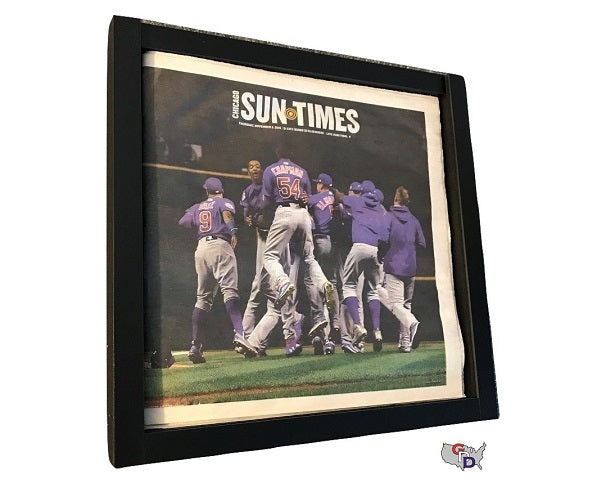 Newspaper Display Frame