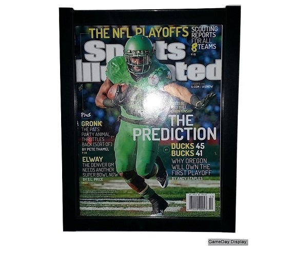 Sports Illustrated Magazine Display Frame
