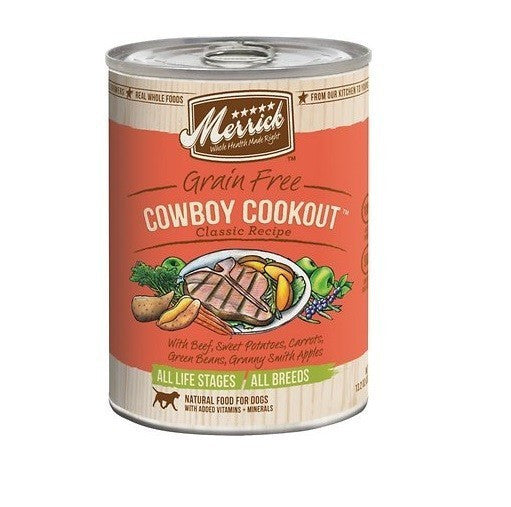 Merric Cowboy Cookout Dog 13.2oz