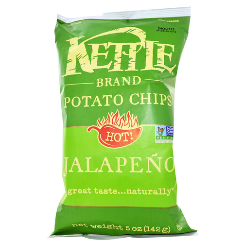 Kettle Chips Jalepeno 8.5oz