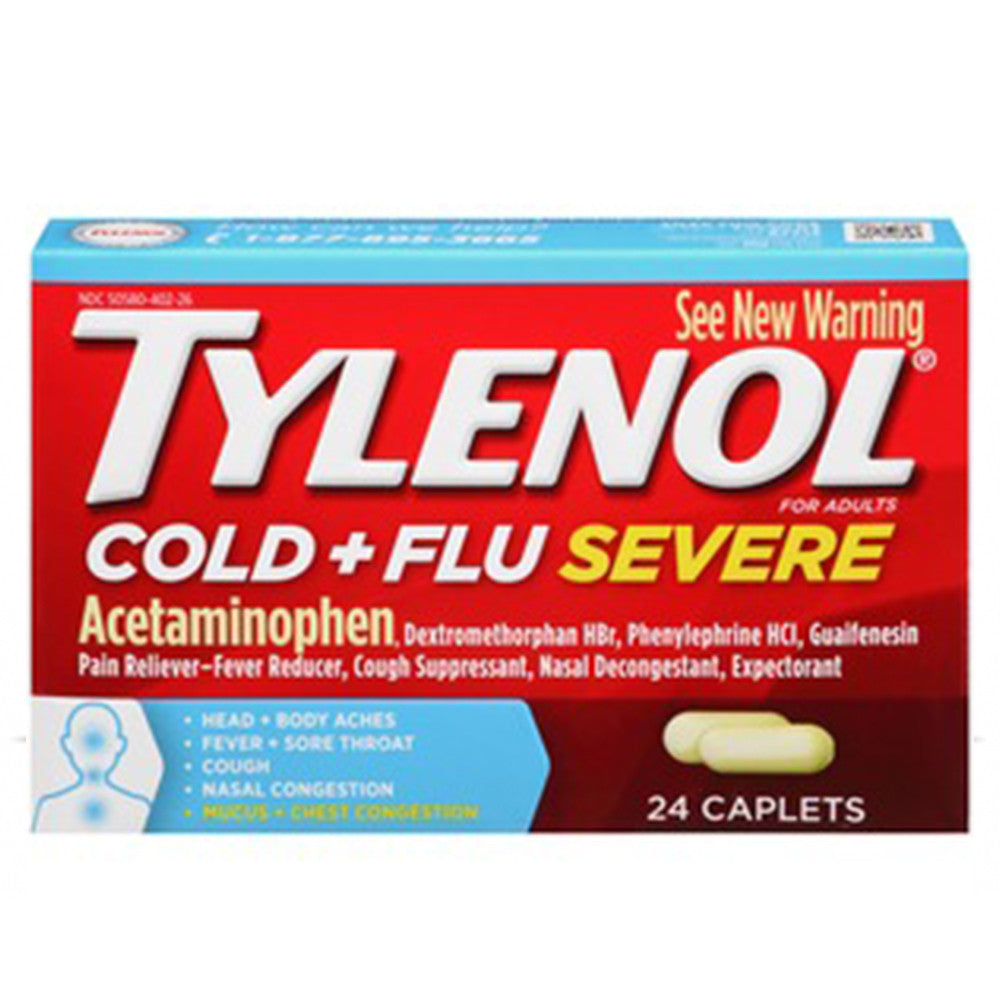 Tylenol Cold/Flu Severe 24ct.